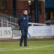 18th November 2017, Dens Park, Dundee, Scotland; Scottish Premier League football, Dundee versus Kilmarnock; Kilmarnock boss Steve Clarke