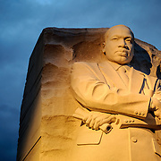 The Martin Luther King Memorial in Washington, DC.