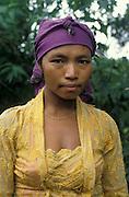 portrait of Javanese woman, Surabaya region