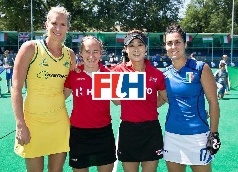 30/06/2015<br /> HWL Semi Final Antwerp Belgium 2015<br /> Australia v Italy Women<br /> <br /> Photo: Grant Treeby