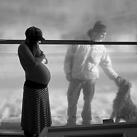 Abby Pattison - pregnancy at the yurt