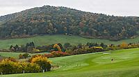 DILLENBURG (Duitsland) - Hole 2, Golf Club Dillenburg in Westerwald. COPYRIGHT KOEN SUYK