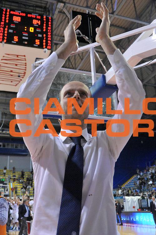DESCRIZIONE : Biella Lega A 2011-12 Angelico Biella Otto Caserta<br /> GIOCATORE : Massimo Cancellieri<br /> CATEGORIA : Esultanza<br /> SQUADRA : Angelico Biella<br /> EVENTO : Campionato Lega A 2011-2012<br /> GARA : Angelico Biella Otto Caserta<br /> DATA : 02/05/2012<br /> SPORT : Pallacanestro<br /> AUTORE : Agenzia Ciamillo-Castoria/S.Ceretti<br /> Galleria : Lega Basket A 2011-2012<br /> Fotonotizia : Biella Lega A 2011-12 Angelico Biella Otto Caserta<br /> Predefinita :