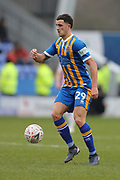 29 Ollie Norburn for Shrewsbury Town during the The FA Cup 3rd round match between Shrewsbury Town and Stoke City at Greenhous Meadow, Shrewsbury, England on 5 January 2019.