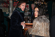REEVE; SHANDRI ODEDRA, launch of The Necessity of Poverty by John Bird published by Quartet. Gerry's Club, 52 Dean Street, London, 18 December 2012.