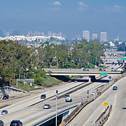 Santa Monica Freeway 10. Los Angeles, CA. United States