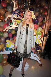 Model KIRSTY HUME at a party hosted by Mulberry during London fashion Week 2009 at Claridge's Hotel, Brook Street, London on 20th September 2009.
