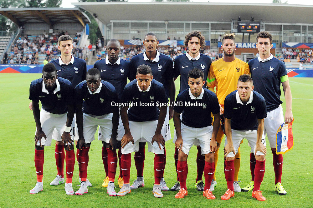 Equipe de France - 11.06.2015 - Football Espoirs - France / Coree du Sud - match amical -Gueugnon<br /> Photo : Jean Paul Thomas / Icon Sport