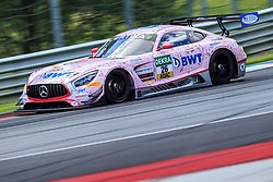 10.06.2017, Red Bull Ring, Spielberg, AUT, ADAC GT Masters, Spielberg, 1. Rennen, im Bild Sebastian Asch (GER)/ Lucas Auer (AUT) BWT Muecke Motorsport // German ADAC GT Masters driver Sebastian Asch/Austrian ADAC GT Masters driver Lucas Auer of BWT Muecke Motorsport during the 1st race of the ADAC GT Masters at the Red Bull Ring in Spielberg, Austria on 2017/06/10. EXPA Pictures © 2017, PhotoCredit: EXPA/ Dominik Angerer