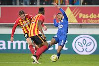 Jordan AMAVI - 19.12.2014 - Lens / Nice - 19e journee Ligue 1<br />Photo : Aurelien Meunier / Icon Sport