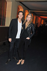 BRENDAN & ZOE COLE at a party to celebrate the launch of the new Vertu Constellation phone - the luxury phonemakers first touchscreen handset, held at the Farmiloe Building, St.John Street, Clarkenwell, London on 24th November 2011.