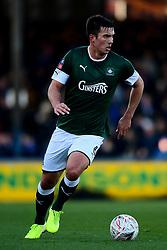 Niall Canavan of Plymouth Argyle - Mandatory by-line: Ryan Hiscott/JMP - 01/12/2019 - FOOTBALL - Memorial Stadium - Bristol, England - Bristol Rovers v Plymouth Argyle - Emirates FA Cup second round