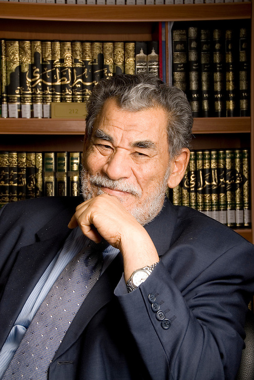 Dr. Hussain Hamed Hassan, Chairman - Shariah Board, Dubai Islamic Bank Group, poses for a portrait on Monday, March 5, 2007 in Dubai, United Arab Emirates. Dr. Hassan chairs Shariah supervision boards of several Islamic financial institutions and is a leading academic in the field of Shariah and comparative law.