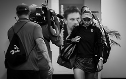 January 5, 2019 - Brisbane, AUSTRALIA - Donna Vekic of Croatia before the semifinal of the 2019 Brisbane International WTA Premier tennis tournament (Credit Image: © AFP7 via ZUMA Wire)