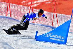 LUCHINI Jacapo, SB-UL, ITA, Snowboard Cross at the WPSB_2019 Para Snowboard World Cup, La Molina, Spain