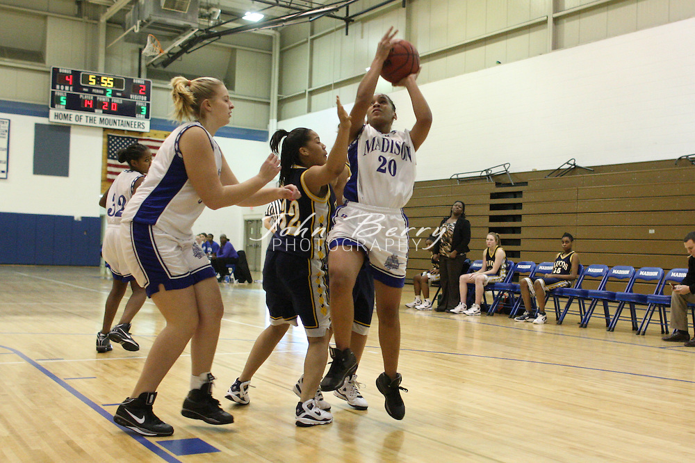 MCHS JV Girls Basketball .vs Fluvanna  .1/26/2009