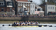 Rowing Course: River Thames, Championship course, Putney to Mortlake 4.25 Miles,