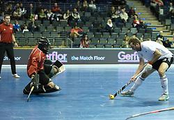 BERLIN - Indoor Hockey World Cup<br /> Men: Russia - South Africa<br /> foto: LOGINOV Iaroslav<br /> COPYRIGHT WILLEM VERNES
