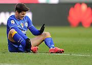 Udine, 01 febbraio 2015<br /> Serie A 2013/2014. 21^ giornata.<br /> Stadio Friuli.<br /> Udinese vs Juventus..<br /> Nella foto: l'attaccante della Juventus Alvaro Morata.<br /> © foto di Simone Ferraro