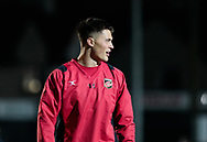 Dragons' Jared Rosser during the pre match warm up<br /> <br /> Photographer Simon King/Replay Images<br /> <br /> Guinness Pro14 Round 10 - Dragons v Ulster - Friday 1st December 2017 - Rodney Parade - Newport<br /> <br /> World Copyright © 2017 Replay Images. All rights reserved. info@replayimages.co.uk - www.replayimages.co.uk