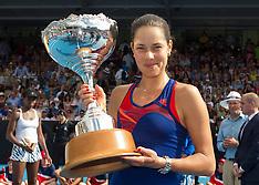 Auckland - Tennis - ASB Classic Final