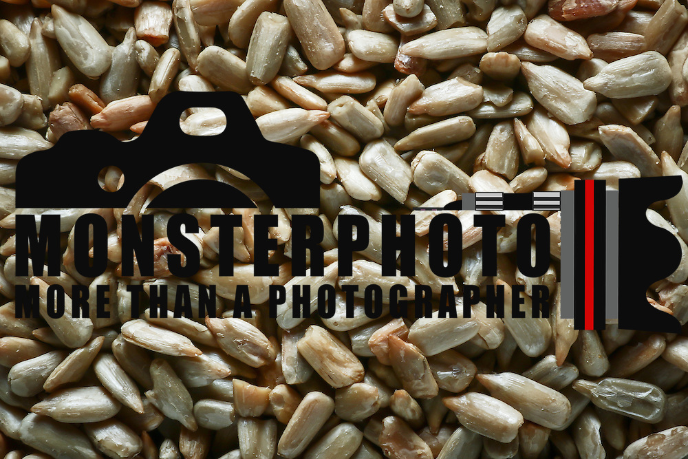 Sunflower seeds without the shell