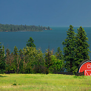 Flathead lake, Polson, Montana
