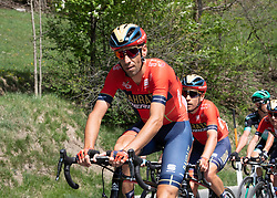 22.04.2019, Kufstein, AUT, Tour of the Alps, 1. Etappe, Kufstein - Kufstein, 144km, im Bild // Vincenzo Nibali (ITA, Bahrain Merida Pro Cycling Team) during the 1st Stage of the Tour of the Alps Cyling Race from Kufstein to Kufstein (144km) in in Kufstein, Austria on 2019/04/22. EXPA Pictures © 2019, PhotoCredit: EXPA/ Reinhard Eisenbauer