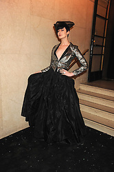 ERIN O'CONNOR at the 2008 British Fashion Awards held at the Lawrence Hall, Westminster, London on 25th November 2008.