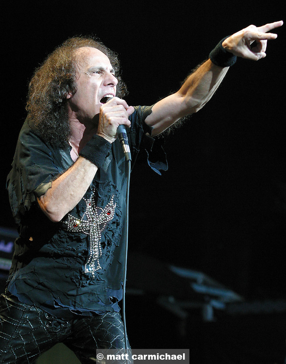 Dio performs live in Concert at Chicago's Tweeter Center.