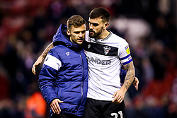 Jamie Paterson and Marlon Pack of Bristol City celebrate victory over Nottingham Forest - Mandatory by-line: Robbie Stephenson/JMP - 19/01/2019 - FOOTBALL - The City Ground - Nottingham, England - Nottingham Forest v Bristol City - Sky Bet Championship