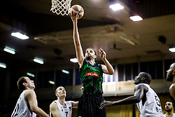 Mirza Begic of Petrol Olimpija during basketballl match between KK Petrol Olimpija Ljubljana and KK Partizan NIS mts in Round #20 of ABA League 2017/18, on February 10, 2018 in Tivoli sports hall, Ljubljana, Slovenia. Photo by Vid Ponikvar / Sportida