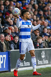 March 9, 2019 - London, England, United Kingdom - Queens Park Rangers Nahki Wells during the second half of the Sky Bet Championship match between Queens Park Rangers and Stoke City at Loftus Road Stadium, London on Saturday 9th March 2019. (Credit Image: © Mi News/NurPhoto via ZUMA Press)