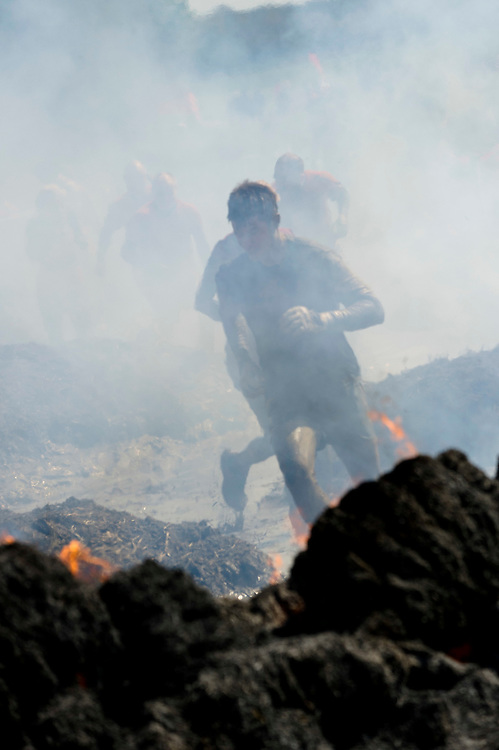 Tough Mudder - May 2012 - Northamptonshire - Fire Walk
