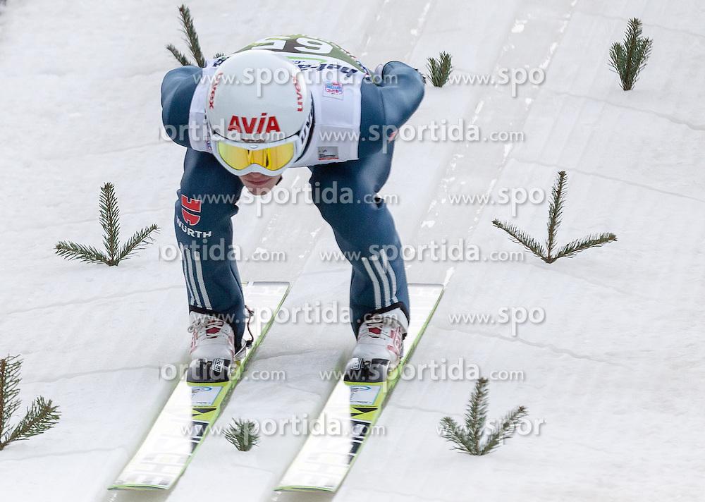 03.01.2014, Bergisel Schanze, Innsbruck, AUT, FIS Ski Sprung Weltcup, 62. Vierschanzentournee, Training, im Bild Marinus Kraus (GER) // Marinus Kraus (GER) during practice Jump of 62nd Four Hills Tournament of FIS Ski Jumping World Cup at the Bergisel Schanze, Innsbruck, <br /> Austria on 2014/01/03. EXPA Pictures &copy; 2014, PhotoCredit: EXPA/ JFK