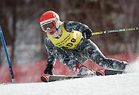 FIS NJR Ladies giant slalom at Sunapee February 10, 2011.