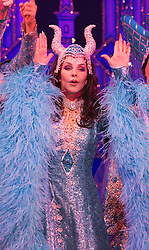 "© Licensed to London News Pictures. 06/12/2012. London, England. Priscilla Presley makes her pantomime debut in ""Snow White and the Seven Dwarfs"" at the New Wimbledon Theatre, Wimbledon, from 7 December 2012 to 13 January 2013. Warwick Davis and Jarred Christmas star alongside her. Photo credit: Bettina Strenske/LNP"
