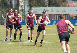April 2, 2018 - Hong Kong, Hong Kong SAR, CHINA - HONG KONG,HONG KONG SAR,CHINA:April 2nd 2018. The Irish rugby team conduct a training session at Kings Park ahead of their Hong Kong Rugby 7's qualifiers.Terry Kennedy in training (Credit Image: © Jayne Russell via ZUMA Wire)