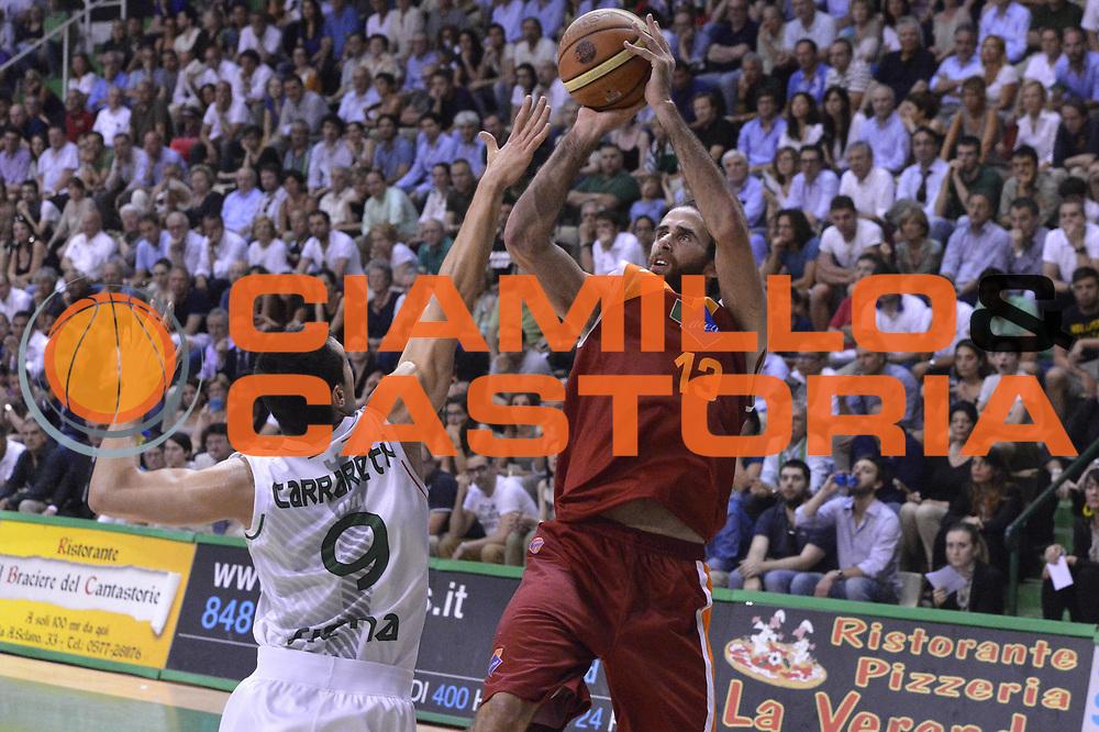 DESCRIZIONE : Roma Lega A 2012-2013 Montepaschi Siena Acea Roma playoff finale gara 4<br /> GIOCATORE : Luigi Datome<br /> CATEGORIA : Tiro<br /> SQUADRA : Montepaschi Siena<br /> EVENTO : Campionato Lega A 2012-2013 playoff finale gara 4<br /> GARA : Montepaschi Siena Acea Roma<br /> DATA : 17/06/2013<br /> SPORT : Pallacanestro <br /> AUTORE : Agenzia Ciamillo-Castoria/GiulioCiamillo<br /> Galleria : Lega Basket A 2012-2013  <br /> Fotonotizia : Roma Lega A 2012-2013 Montepaschi Siena Acea Roma playoff finale gara 4<br /> Predefinita :