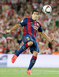 30.05.2015, Camp Nou, Barcelona, ESP, Copa del Rey, Athletic Club Bilbao vs FC Barcelona, Finale, im Bild FC Barcelona's Luis Suarez // during the final match of spanish king's cup between Athletic Club Bilbao and Barcelona FC at Camp Nou in Barcelona, Spain on 2015/05/30. EXPA Pictures © 2015, PhotoCredit: EXPA/ Alterphotos/ Acero<br /> <br /> *****ATTENTION - OUT of ESP, SUI*****