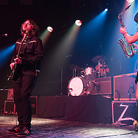 The Zutons live in concert at The Barrowlands, Glasgow, UK 28th March 2019