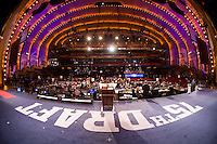 The 75th NFL Draft at Radio City Music Hall.