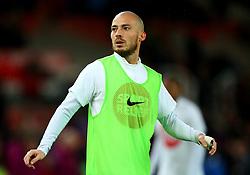 David Silva of Manchester City - Mandatory by-line: Robbie Stephenson/JMP - 12/03/2018 - FOOTBALL - Bet365 Stadium - Stoke-on-Trent, England - Stoke City v Manchester City - Premier League