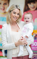 Repro Free: 25/10/2014<br /> Celebrity mum Pippa O&rsquo;Connor is pictured with Ivy Shaw (7 mths) from Artane at the launch of the SMA Know-How Pregnancy and Baby Fair, Ireland&rsquo;s premier pregnancy and maternity event, taking place in the RDS this weekend 30-31 August. <br /> The event will feature advice from a host of Ireland&rsquo;s leading professionals in maternity, paediatrics and baby products, including a baby sleep expert, a baby allergy specialist and a baby nutrition expert. Attendees will also enjoy exclusive access to over 100 retailers and exhibitors who will be offering exclusive discounts and special offers on a host of products and services. <br /> Pippa O&rsquo;Connor will be attending each day of the SMA Know-How Pregnancy and Baby Fair to judge the &lsquo;VIP Glow of the Show Award&rsquo;. The award will go to the expectant or new Mammy attending who has a beautiful and natural glow! Each winner will receive an array of wonderful prizes! Picture: Andres Poveda