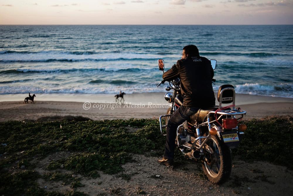 Gaza strip beach on January 20, 2010.© ALESSIO ROMENZI