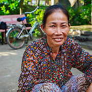 CAPTION: Bui Huong, outside her house. LOCATION: Long Tuyen, Can Tho, Vietnam. INDIVIDUAL(S) PHOTOGRAPHED: Bui Huong.