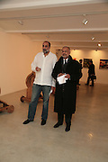 Sharanbir Britnath and George Verghese, Other,Riyas Komu and Peter Drake. - VIP  launch of Aicon. London's largest contemporary Indian art gallery. Heddon st. and afterwards ant Momo.15 Marc h 2007.  -DO NOT ARCHIVE-© Copyright Photograph by Dafydd Jones. 248 Clapham Rd. London SW9 0PZ. Tel 0207 820 0771. www.dafjones.com.