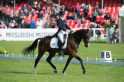 Spence Georgie, (GBR), WII Limbo<br /> Dressage <br /> Mitsubishi Motors Badminton Horse Trials - Badminton 2015<br /> © Hippo Foto - Jon Stroud<br /> 07/05/15