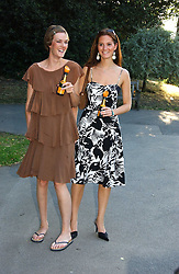 Left to right, SARAH WHEELER and RACHEL JOHNSTONE at the Concervative Party Summer Party held in the gardnes of The Royal Hospital, Chelsea, London on 3rd July 2006.<br /><br />NON EXCLUSIVE - WORLD RIGHTS