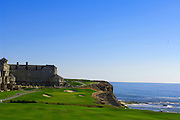 Hole No. 18 on the Ocean Course at Half Moon Bay Golf Links on Oct. 2, 2006. in Half Moon Bay, Calif.......©2006 Scott A. Miller